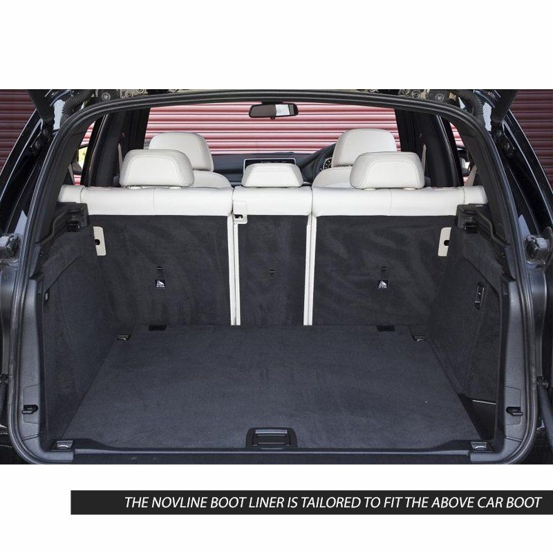 Tailored Black Boot Liner to fit BMW X5 (F15) 2013 - 2018