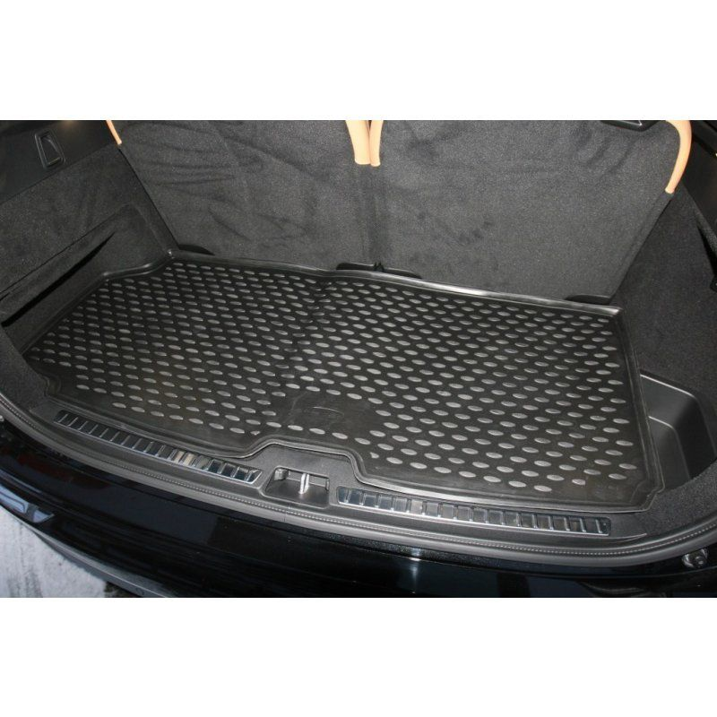 Tailored Black Boot Liner to fit Volvo XC90 Mk.2 (Short Mat) 2015 - 2020