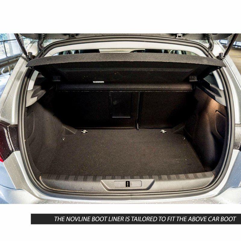 Tailored Black Boot Liner to fit Peugeot 308 Hatchback 2014 - 2020