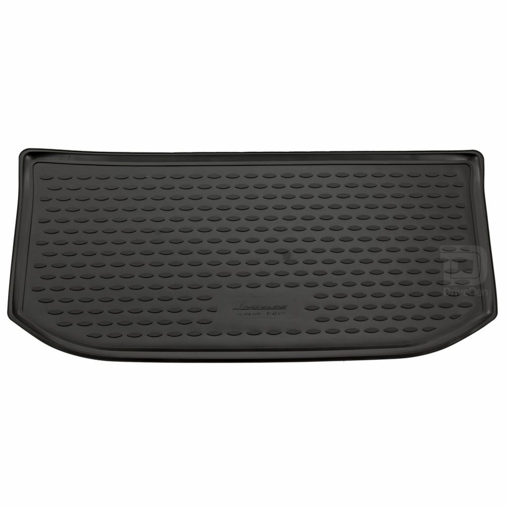 Tailored Black Boot Liner to fit Volkswagen Up (with Raised Boot Floor) 2011 - 2020