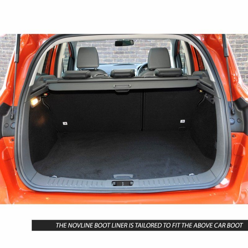 Tailored Black Boot Liner to fit Ford Kuga Mk.1 2008 - 2012