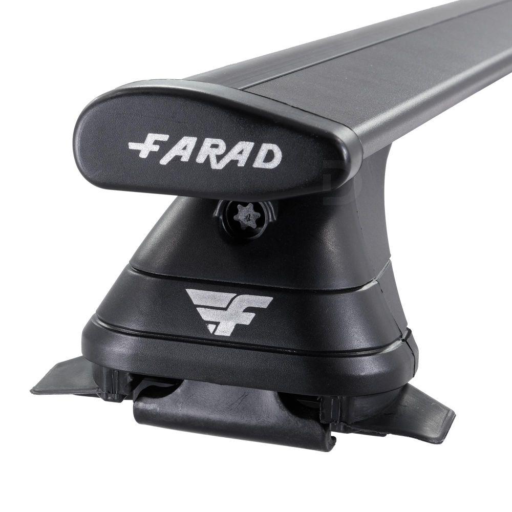 Pro Wing Black Aluminium Roof Bars to fit Audi A6 Avant (C8) 2019 - 2021 (Closed Roof Rails)