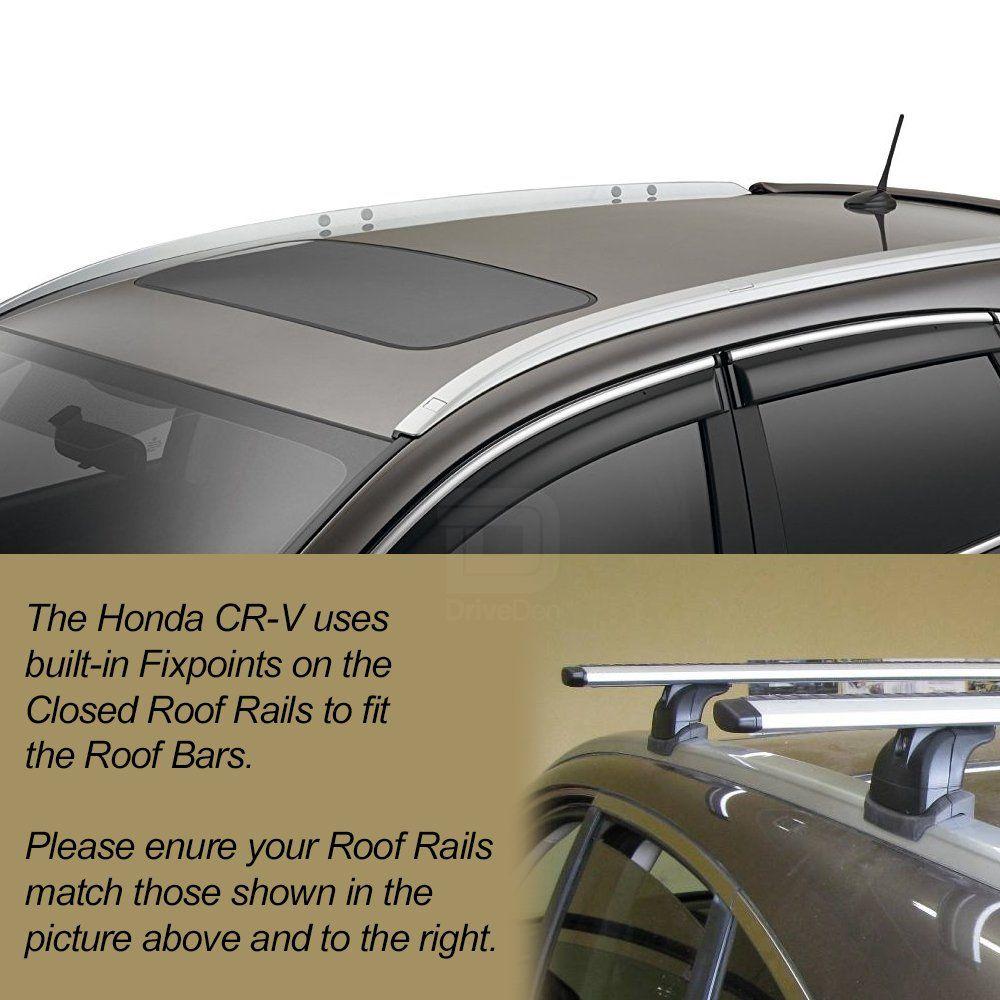 Honda Cr V Thule Wingbar Evo Silver Roof Bars Driveden Uk