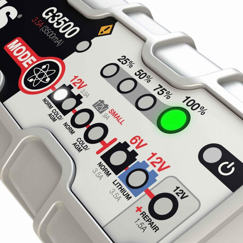 Genius G3500UK 3.5A Smart Battery Charger