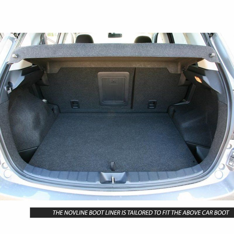 Tailored Black Boot Liner to fit Mitsubishi ASX 2010 - 2020
