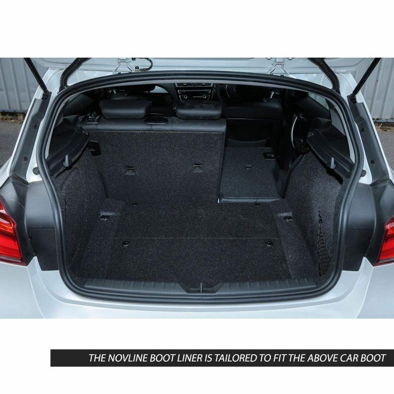 Tailored Black Boot Liner to fit BMW 1 Series (F20) Hatchback 2011 - 2019