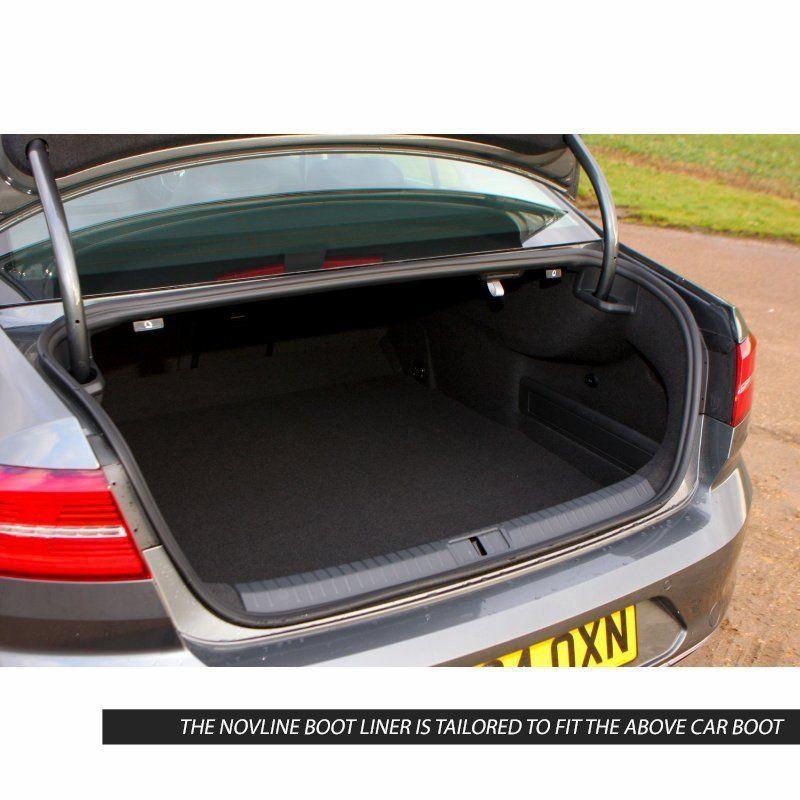 Tailored Black Boot Liner to fit Volkswagen Passat (B8) Saloon 2015 - 2020
