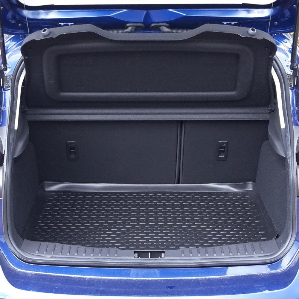 Tailored Black Boot Liner to fit Ford Focus Mk.3 Hatchback 2011 - 2018