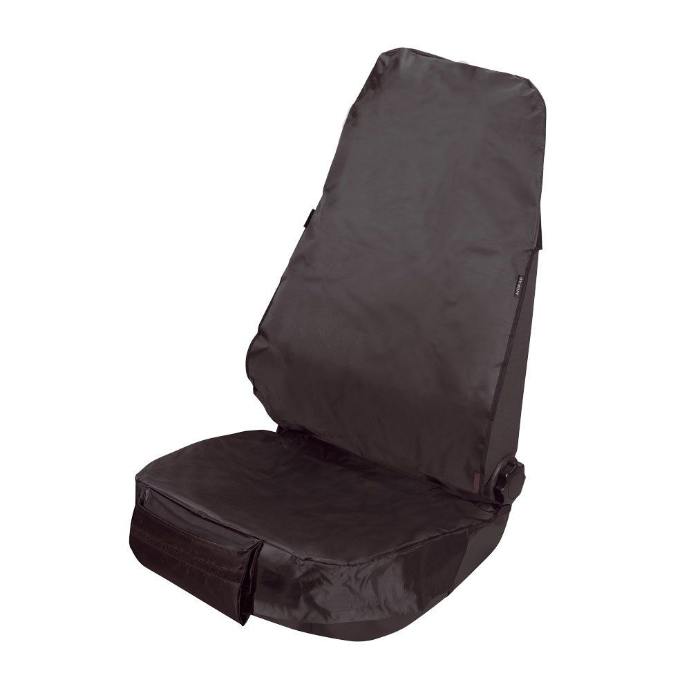 Dirty Harry Single Front Dark Grey Seat Protector Cover