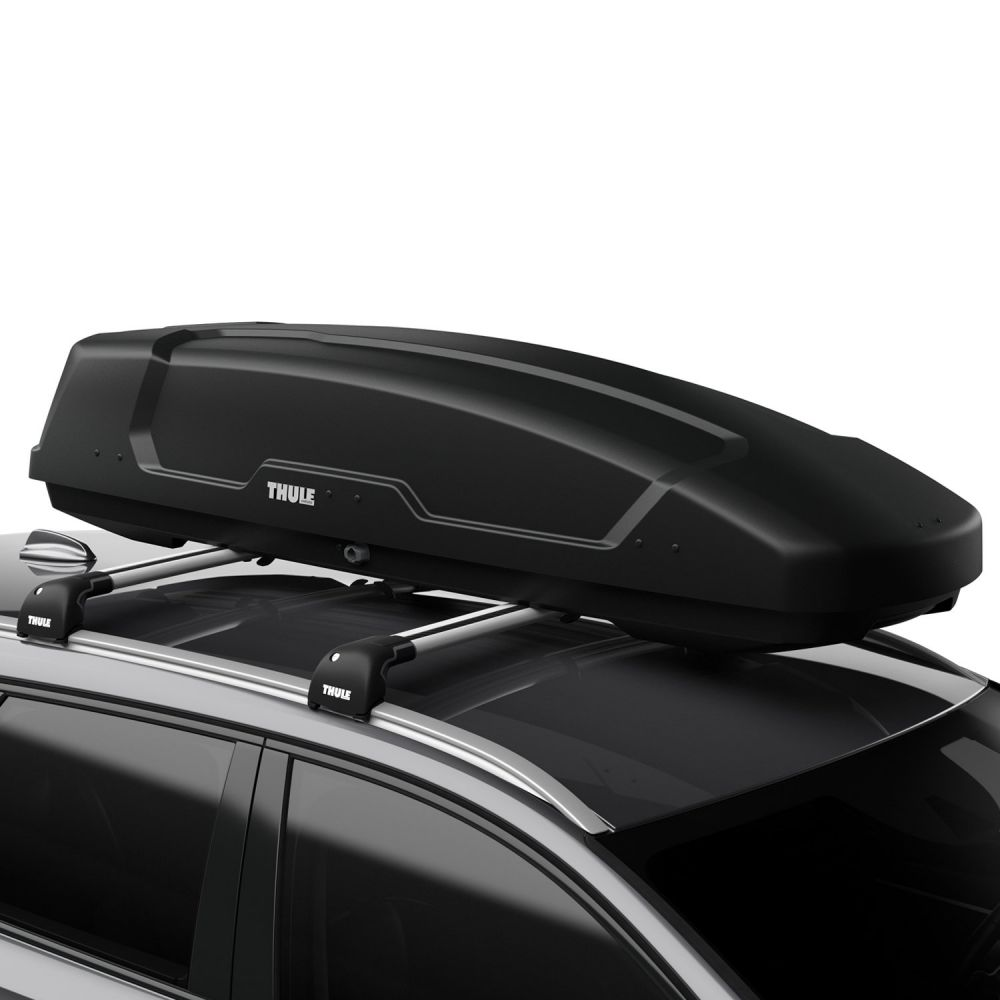 Force XT Sport 300L Black AeroSkin Roof Box