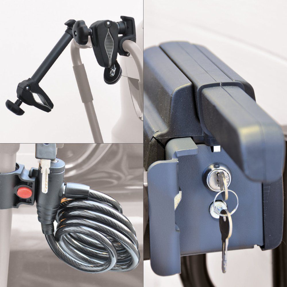 Pure Instinct Towbar Mount 4 Bike Carrier