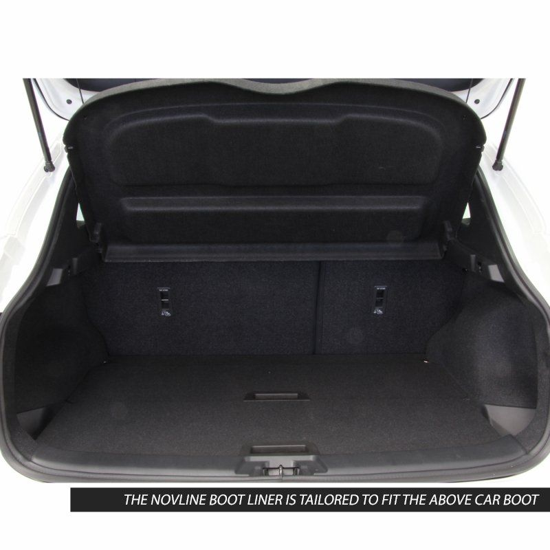 Tailored Black Boot Liner to fit Nissan Qashqai 2014 - 2020