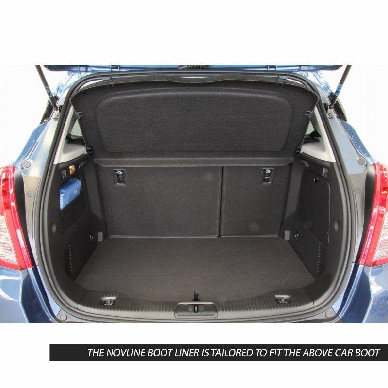 Tailored Black Boot Liner to fit Vauxhall Mokka & Mokka X 2012 - 2019