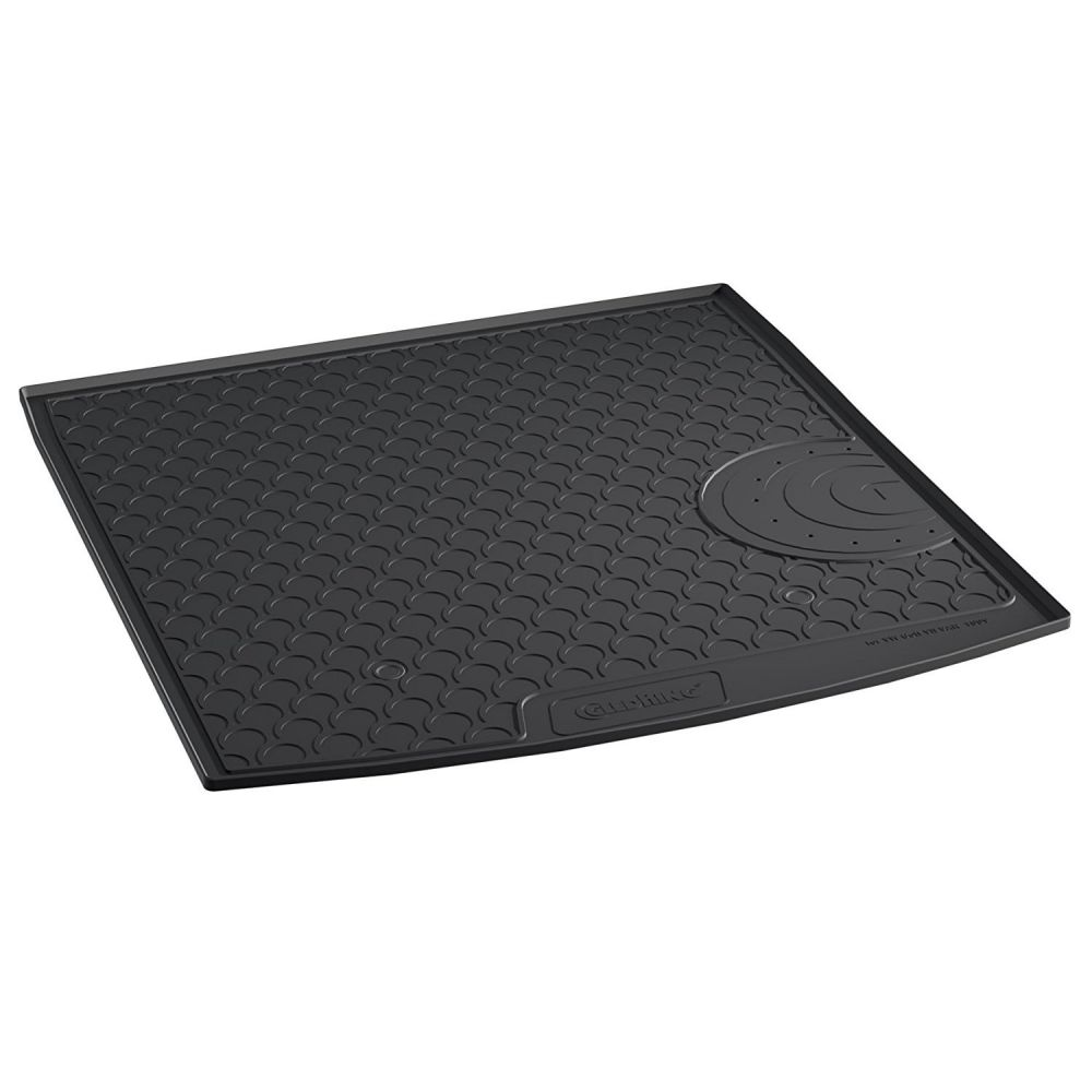 Tailored Black Boot Liner to fit Volkswagen Golf Mk.7 Estate (with Raised Boot Floor) 2013 - 2019