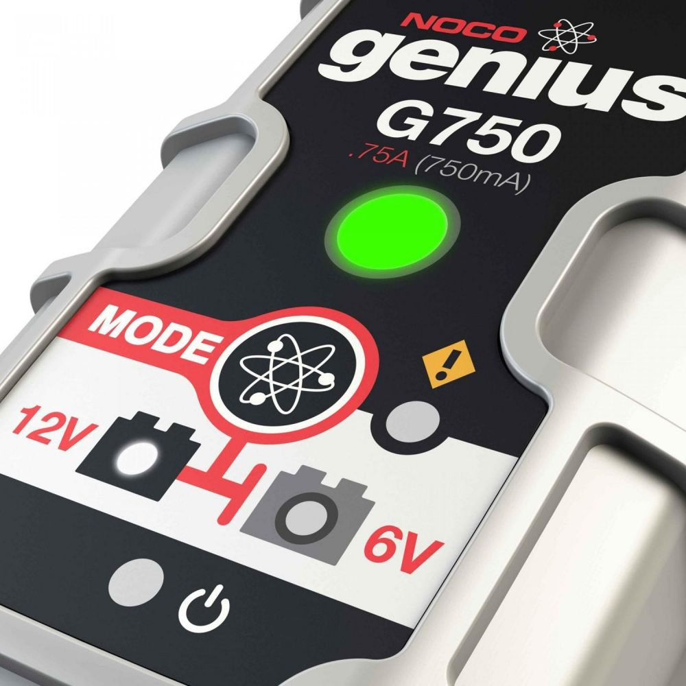Genius G750UK 0.75A Battery Charger and Maintainer