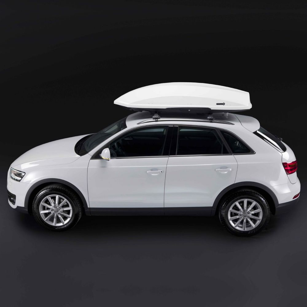 Thunder 520L Gloss White Roof Box