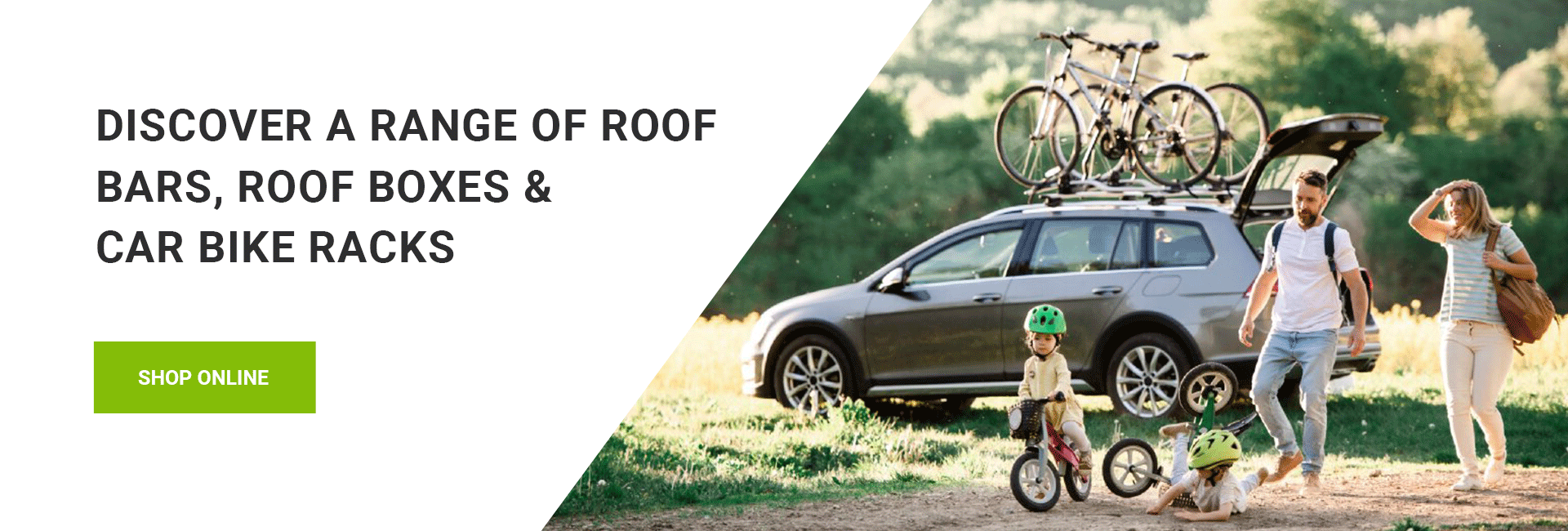 Car Roof Bars, Roof Boxes and Bike Racks