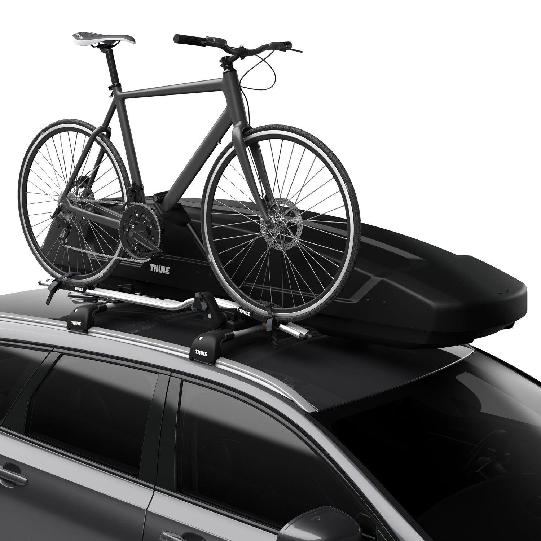 Force XT Alpine 420L Black AeroSkin Roof Box | DriveDen UK