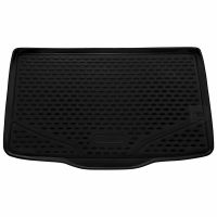 Tailored Black Boot Liner to fit Fiat 500L 2012 - 2020