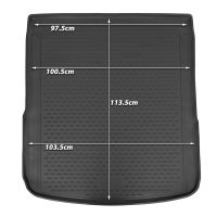 Tailored Black Boot Liner to fit Audi A6 Avant (C8) 2019 - 2021