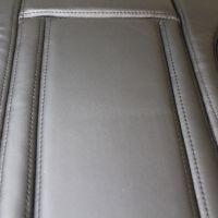Ravenna Faux Black Leather Car Seat Cushion