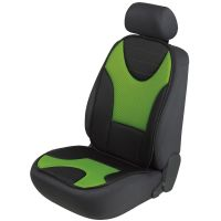 Grafis Black/Green Car Seat Cushion