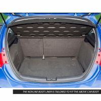 Tailored Black Boot Liner to fit Seat Leon Hatchback 2007 - 2013