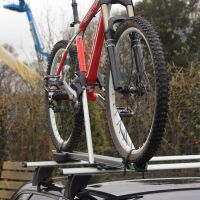Speed Silver Aluminium Roof Mounted Cycle Carrier
