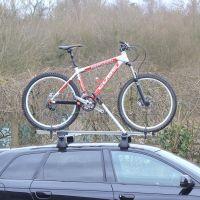 Speed Aluminium Roof Mount Bike Carrier - Black