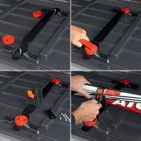 Roof Box Ski Carrier System - 2 Pairs