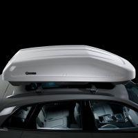 EVO 470L Gloss White Roof Box