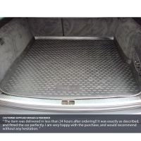 Tailored Black Boot Liner to fit Audi A6 Avant (C6) 2005 - 2011
