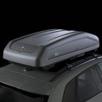 EVO 400L Textured Matte Grey Roof Box