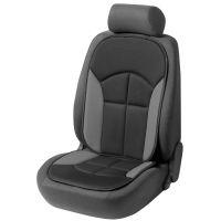 Novara Black/Grey Car Seat Cushion