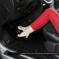 Tailored Black Rubber 4 Piece Floor Mat Set to fit Land Rover Discovery Sport 2015 - 2019