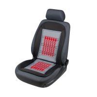 Warm Up 12v Heated Black/Grey Car Seat Cushion