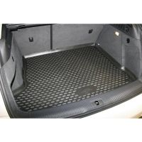 Tailored Black Boot Liner to fit Audi Q3 Mk.1 (with Raised Boot Floor) 2011 - 2018