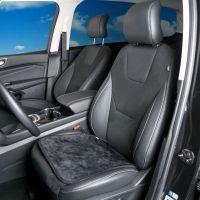 USB Heated Black Car Seat Cushion