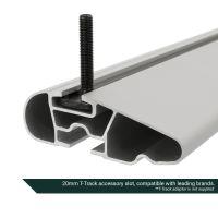 Pro Wing Silver Aluminium Roof Bars to fit Audi A6 Avant (C6) 2005 - 2011 (Closed Roof Rails)