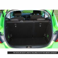 Tailored Black Boot Liner to fit Vauxhall Corsa (E) Mk.4 2015 - 2019