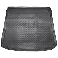 Tailored Black Boot Liner to fit Audi Q7 Mk.1 2006 - 2015